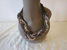 Jahfya Royalworks   - Chunky  Bead Metal Chain Necklace, $40.95 (http://www.jahfyaroyalworks.com/chunky-bead-metal-chain-necklace/)