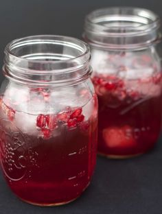 Pomegranate Champagne | Sweet Remedy