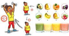 Pułap wydolności fizycznej i psychicznej, na którym obecnie żyjemy, zależy często od tego, czy potrafimy zdobyć dla siebie odpowiednie wartościowe pożywienie. Poprzez stosowanie odpowiednich połączeń... Fitness Models, Fitness Motivation, Cocktail, Fruit Smoothies, Bowser, Detox, Food And Drink, Health, Instagram Posts