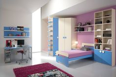 Junior one: the room Spar ideal for your children, because it is functional, comfortable and safe in every corner. http://www.spar.it/sp/it/arredamento/camerette-one-220.3sp?cts=camerette_one