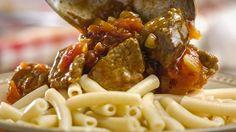 Macaroni and stew