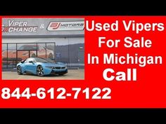 Used Vipers For Sale In Michigan | Call (844) 612-7122 | 2015 BMW i8 Pure Impulse World | Protonic Blue with Frozen Grey | 195 miles - Tracker System Power 1st Row Windows w/Driver And Passenger 1-Touch Up/Down Delayed Accessory Power Power Door Locks w/Autolock Feature Systems Monitor Head-Up Display Redundant Digital Speedometer Trip Computer Outside Temp Gauge Analog Display Manual Adjustable Front Head Restraints Front Center Armrest