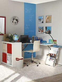 50 Home Office Furniture Image Ideas - How To Arrange One - CasaNesia Home Office Furniture, Furniture For You, Furniture Ideas, Traditional Furniture, Contemporary Furniture, Homemade Furniture, Furniture Placement, Table And Chairs, Chair Design