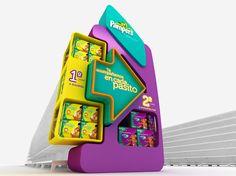 Diseño de piezas instore para distintas campañas de Pampers realizadas para TM Group.