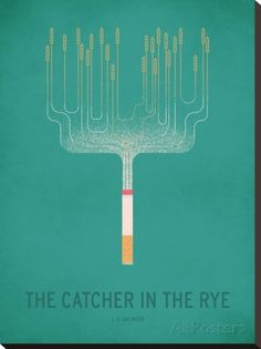 The Cather in the Rye_Minimal キャンバスプリント