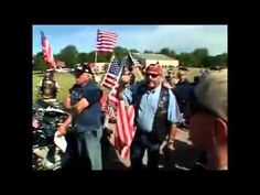 Patriot Guard protects the family of our fallen soldiers in their time of sadness.