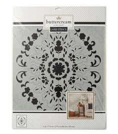 Buttercream™ Audrey Collection Extra Large Stencil-Vintage Lace
