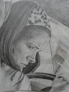 TETE, by Rosana Pavesa lápiz sobre canson N° 6