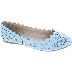 Designer Clothes, Shoes & Bags for Women Pump Shoes, Shoes Heels, Pumps, Blue Flats, Blue Shoes, Crazy Shoes, Laser Cutting, Oxford Shoes, Dress Shoes