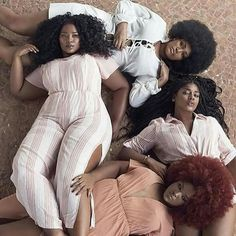 Hair.... they are killin' it with this pose.... We gotta recreate this one @mysistahfriends