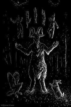 """""""Wouldst thou like to live deliciously?"""" Illustration inspired by """"The VVitch""""…"""