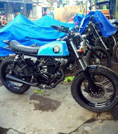 Blues no 10 japstyle honda GL pro