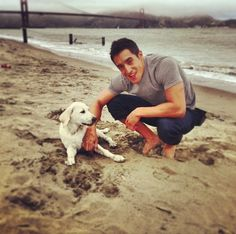 (submitted by moose-kisses)   thatsmejer:  Keahu at the beach today!