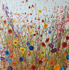 You Bring My Soul Sweet Happiness is an original artwork by Yvonne Coomber using oil paint on a canvas surface. This unique piece is signed and titled on the back by the artist.