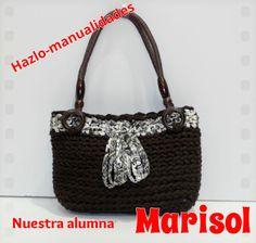 Y finalizamos la semana con el trabajo de Marisol, un bolso perfecto para lucir en cualquier ocasión. Anímate a participar en nuestros cursos, ¡feliz fin de semana!