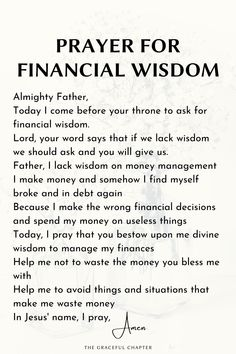 Prayer Scriptures, Bible Prayers, Faith Prayer, Prayer Quotes, Affirmation Quotes, Wisdom Quotes, Prayer For Wisdom, Catholic Prayers, Bible Verses