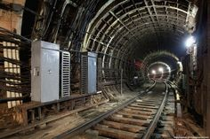 In the Moscow Metro Tunnels | English Russia | Page 2