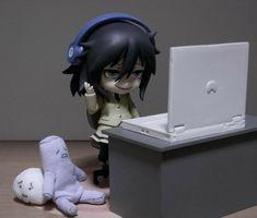Kuroki Tomoko, Manga, Ahegao, Anime Figurines, Gothic Anime, Indie Kids, Pretty Pictures, Aesthetic Anime, Art Inspo