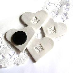 Wedding handmade clay