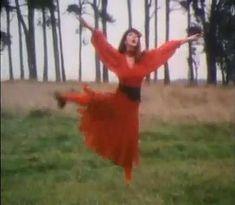 Kate bush red dress