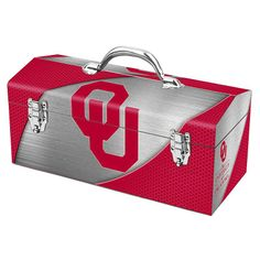 UNIVERSITY OF OKLAHOMA TOOL BOX - the perfect gift for dad on Father's Day!