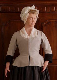 Ida's jacket (18th century) and fitchu