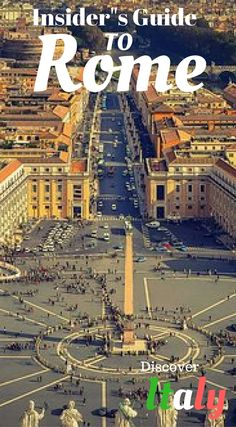 Insider's guide to Rome Italy. Beautiful, historic and diverse Rome, there are few other cities in the World that can match the abundance of sights to conquer on a vacation. Click to read the insiders guide to more Italy at http://www.divergenttravelers.com/3-days-in-rome-things-to-do/