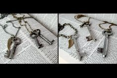 Cinder & Sage assorted vintage skeleton keys - I throw these on all the time - LOVE Jewellery Display, Jewelry Shop, Jewelry Art, Skeleton Keys, Delicate Jewelry, Displaying Collections, Cinder, Colored Diamonds, Locks