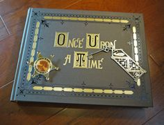 Once Upon a Time FULLSIZE Story book replica