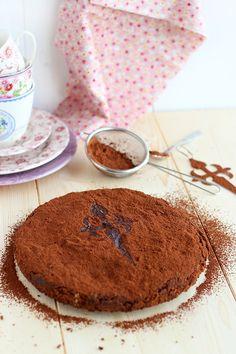 """Tarta-brownie"" de Santiago"