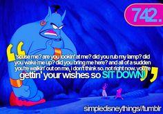 Aladdin / Disney Quote
