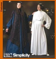Princess Leia Padme Amidala Hat 6 t 12 Star Wars Costume Simplicity Pattern 4443