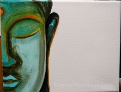 Step Adding a bit more of a background layer for the foundation of the face. Canvas Prints, Framed Prints, Art Prints, Buddha Painting, Unique Art, Fine Art America, Artworks, Art Photography, Foundation