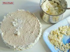Bibimoni Receptjei: Rumos meggyes gesztenyetorta Dairy, Cheese, Food, Eten, Meals, Diet