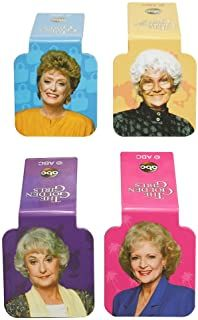 Ata-Boy Golden Girls Cast Set of 4 Magnetic Page-Top Bookmarks Wacky Socks, Golden Girls Gifts, Cool Calendars, Girls Bible, Hot Cocoa Mixes, Library Books, Bookmarks, It Cast, Boys