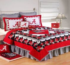 Alabama Quilt by C Quilts | C & F Quilts | Comforters, Quilts, Bedspreads, Linens, Rugs, Curtains, By Brand | Linen Locker