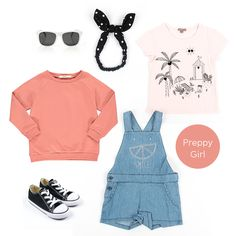 Preppy Girl, shop the look! Baby Outfits, Preppy Girl, Baby Online, Kind Mode, Kids Fashion, Shopping, Clothes, Baby Coming Home Outfit, Outfits
