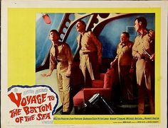 """Voyage to the Bottom of the Sea (20th Century Fox, 1961). Lobby Card (11"""" X 14"""").   Flickr - Photo Sharing!"""