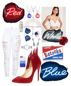 """The 4th"" by omg-imafashionista on Polyvore featuring Seletti, Christian Dior, Room Essentials, Leighton, Anya Hindmarch, Missguided, Christian Louboutin, Kevin Jewelers, Tiffany & Co. and Marc by Marc Jacobs"