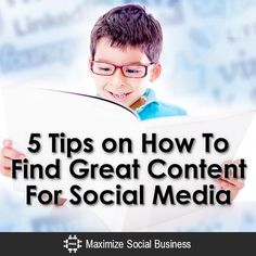 Looking for great content to share in social media? Look no further!