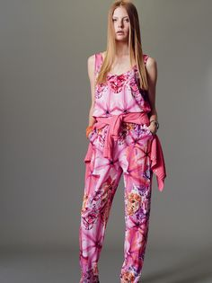 Naughty Dog SS15 all in one viscose jersey jumpsuit.