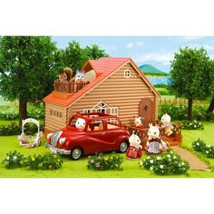 Log Cabin Sylvanian Children- A large selection of Toys and Hobbies on Smallable, the Family Concept Store - More than 600 brands. Sylvanian Families, Cosy Cottage, Lakeside Lodge, Gelato Shop, Great Christmas Presents, Getting Played, Some Games, Shower Panels, Kids Toys