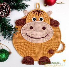 Crochet Applique Patterns Free, Crochet Patterns Amigurumi, Crochet Blanket Patterns, Baby Knitting Patterns, Crochet Carpet, Crochet Potholders, Love Crochet, Stuffed Toys Patterns, Crochet Designs