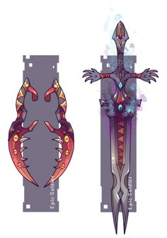 Weapon commission 53 by Epic-Soldier on @DeviantArt