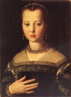 Agnolo Bronzino - Maria De Medici