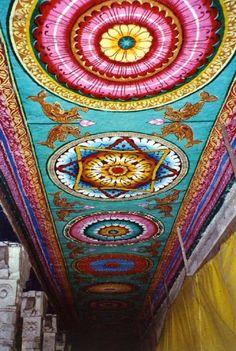 Ceiling of Mandalas