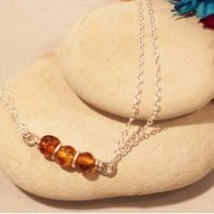 Amber Bracelet £22 on Made Closer - New Autumn/Winter Range by Ayana Jewellery | Made in UK
