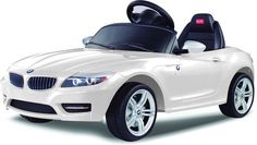 Vroom Rider VR81800-WH BMW Z4 Rastar 6V - Battery Operated/Remote Controlled (White)