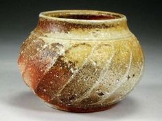 Woodfired stoneware vessel   Bruce Martin    Hastings, New Zealand