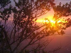 Pôr do sol, Chapada Diamantina, Bahia, Brasil